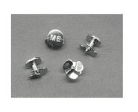 ME Four Shirt Studs (Silver)